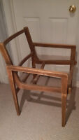 Free Wooden Chair Frame