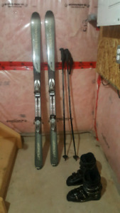 Rossignol Skis/Boots/Poles Pkg