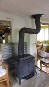 Vermont casting wood stove - must sell