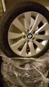 BMW 3 series  winter tires and rims
