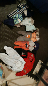 Baby boys clothing lot 3-6 months