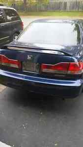 2001 Honda Accord sedan **manual**