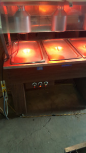 hot buffet catering tables / 3 well / 4 well / 5 well available