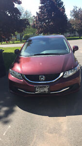 2013 Honda Civic Ex Sedan 37,000 Kilometers
