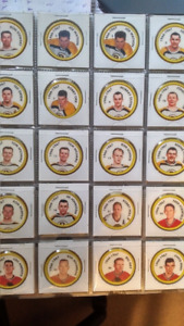 Shirriff Salada NHL HOCKEY coins, 80 pcs in sleeves