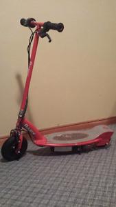 Razor electric scooter obo