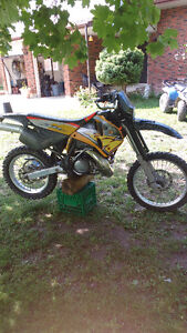 97 KTM 300 exc street legal with ownership!