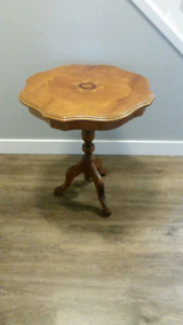 Accent Table solid wood