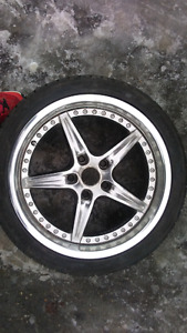 Envy 5 Star Rims And Tires 5 X 120mm