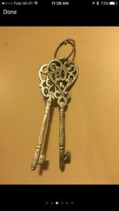 Medieval Decorative Keys with Knight Display Cambridge Kitchener Area image 3