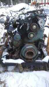 4 cylinder Detroit Engine with an Allison Transmission.