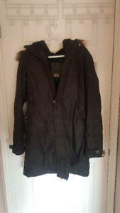TNA Winter Jacket/Parka - Black, Size XL