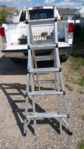 Mastercraft articulating ladder