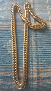 Gucci & Gabbana 18 k gold chain
