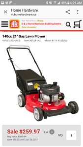 Mower and weed eater