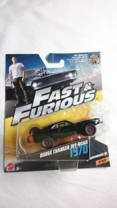 FAST AND FURIOUS 1970 DODGE CHARGER OFF ROAD DIE CAST MINT 2017