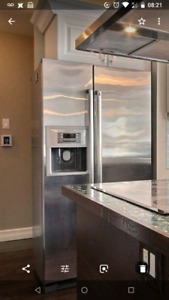 Bosch refrigerator, moving sale! Dont miss it
