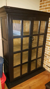 Buffet / Hutch and patio sets like new