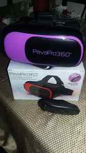 PavaPro 360 Virtual Reality Headset/ Bluetooth Gaming Control