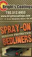 Spray bed liners