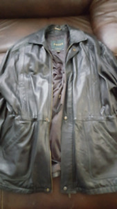 Danier leather men's winter jacket