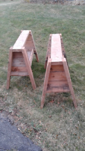 WOODEN WORK BENCH  (PRICE REDUCED)