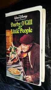Walt Disney VHS  Darby O' Gill and The Little People