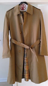 Large-sized Vintage Men's Burberry Jacket