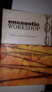 Art Books Drawing Watercolor Encaustic 3 Books