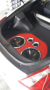 CAR AUDIO INSTALLATIONS AND SALES