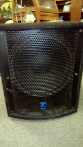 "ls720p 700 watt powerd 15 "" sub woofer"