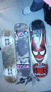 Skateboard - everything in pics included