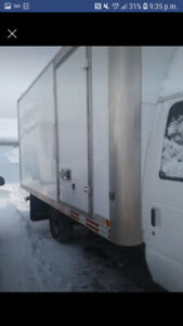 Camion cube 14 pied inspection faite