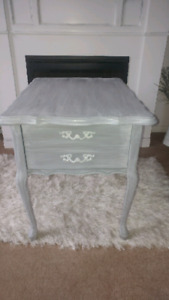 Lovely refinished end tables..