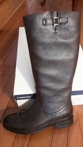 Brown leather boots - Size 8 1/2 NEW IN BOX