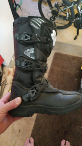 Youth motocoss boot. Fox Comp3 size Y3