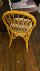 Comfy Wicker Dining Chair