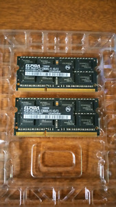 8GB (2 x 4GB) DDR3 Apple MacBook Pro Memory Module Kit