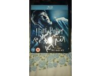 Harry Potter years 1-7 bluray signed by Harry Melling