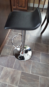 Two Matching Adjustable Bar Stools