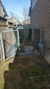 Large outdoor dog animal run kennel