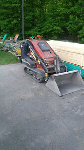 Rent our Mini Skid Steer! $150/day! Dump Trailer $70/day!