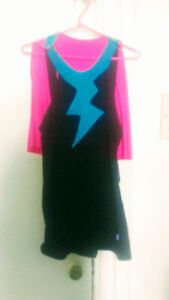 Superhero Dress and Cape - Size Large