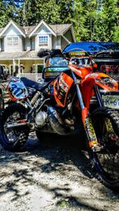 2001 KTM 250 EXC