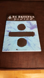 Ed Sheeran Guitar Tab Book