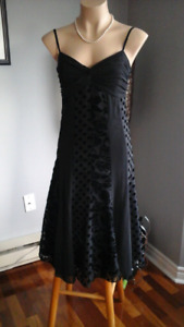 Pretty black cocktail dress - for any occasion  Size 6