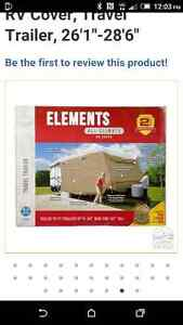 Travel Trailer Elements All Climate RV Cover, 26.1 - 28.6