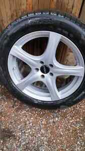"""Set of 18"""" Ronal wheels with free winter tires"""