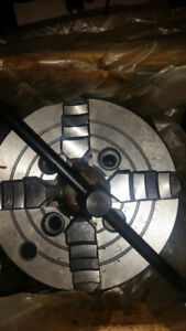 """6"""" 4 jaw independent plain Back Chuck (Made in China)"""