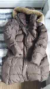 Like New Ladies Down Filled Canadian Made Coat